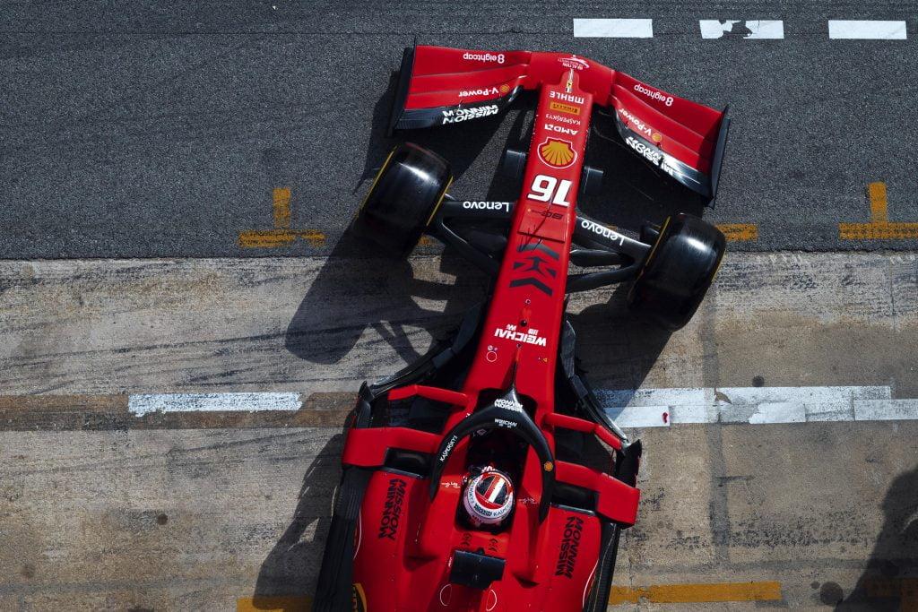 nuova Ferrari F1