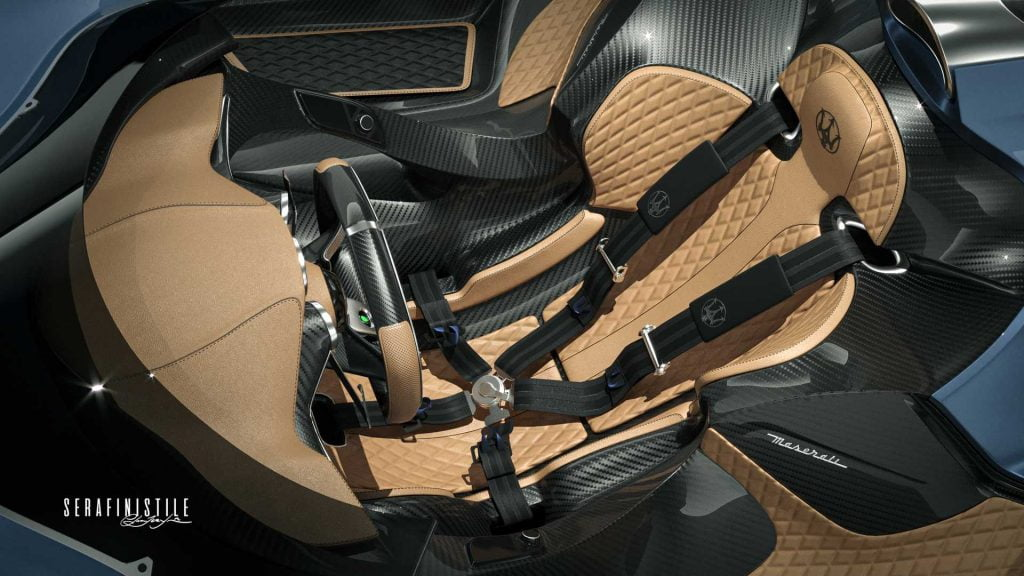 Maserati Millemiglia rendering interni