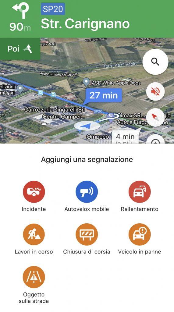 Autovelox Google Maps