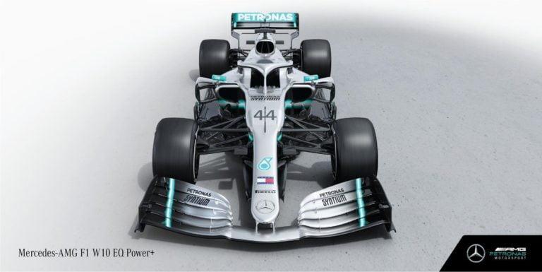 Mercedes W11 front