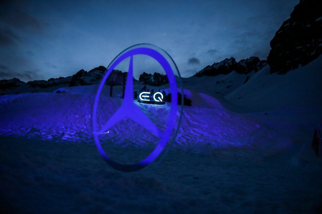 Mercedes-Benz Italia ed EQC partner dell'Ice Music Festival Pontedilegno-Tonale