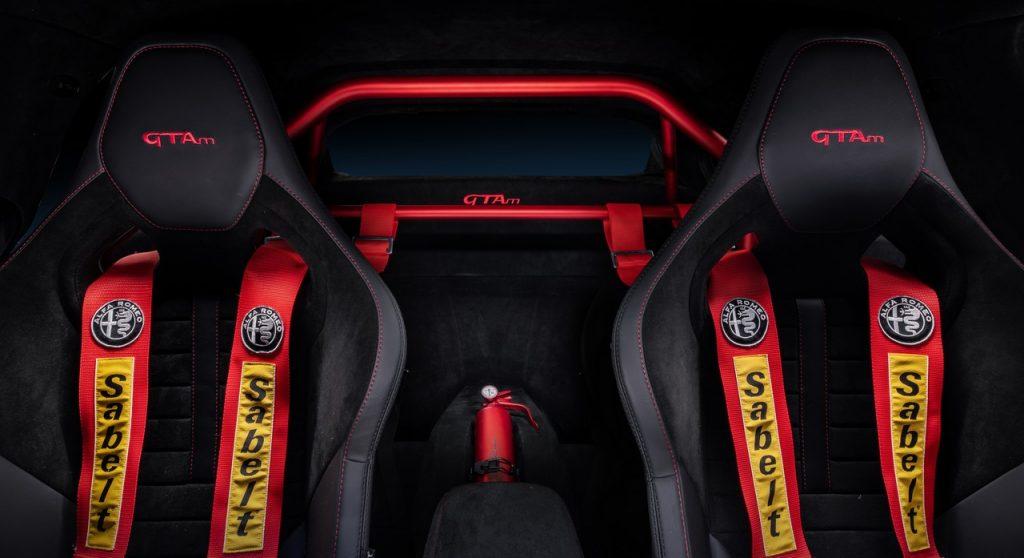 Interni sedili Alfa Romeo Giulia GTA