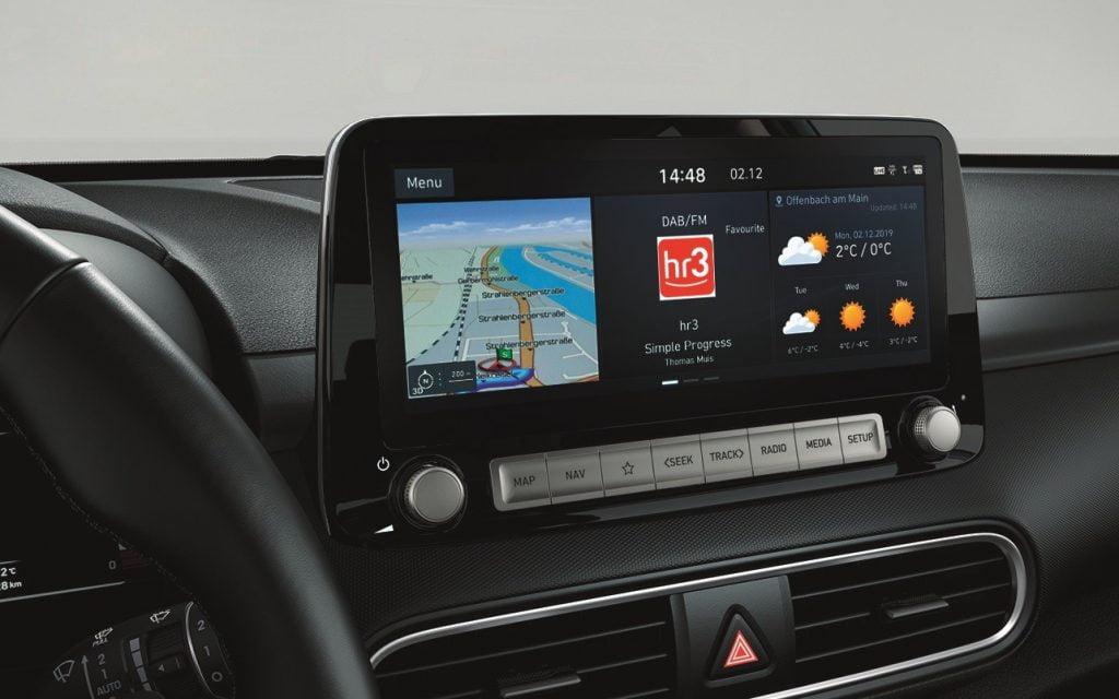 schermo Touchscreen kona electric my 2020