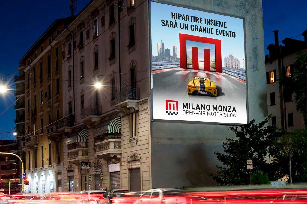 Milano Monza Motor Show affissione
