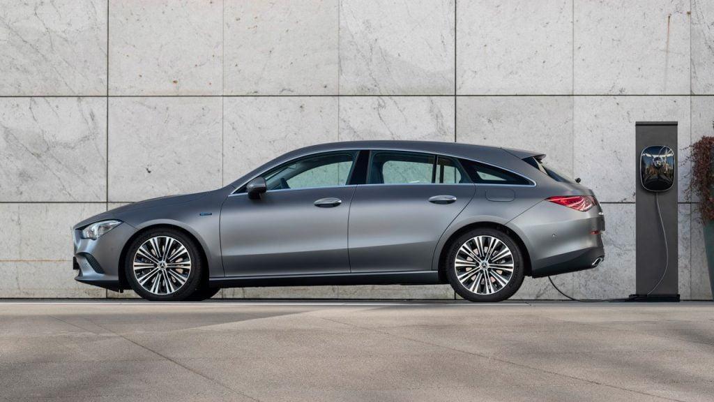 Mercedes ibride plug-in