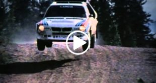 Lancia Delta S4 Gruppo B Rally Video