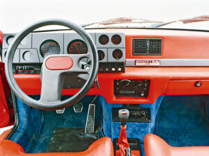 Renault 5 Turbo interni