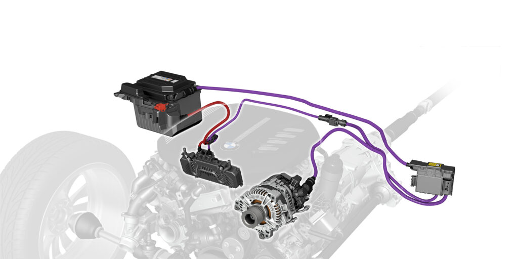 BMW Mild Hybrid 48 Volt