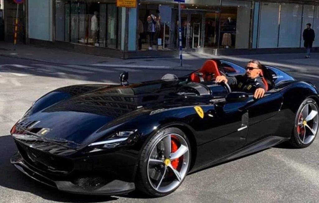 Ferrari Monza SP2 Ibrahimovic