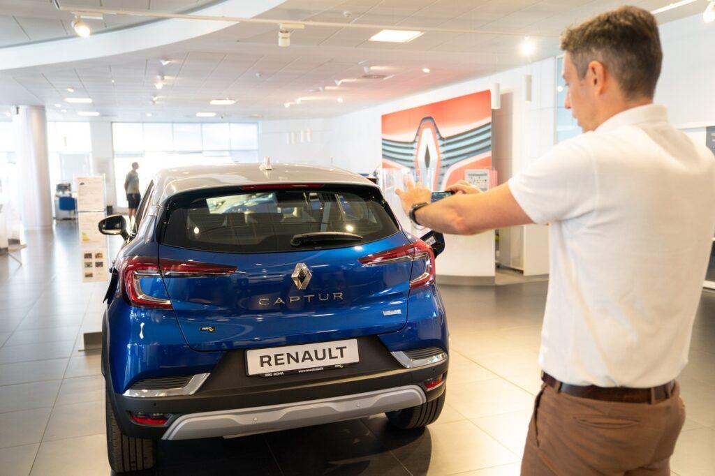 renault italia customer experience