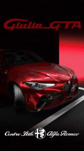 Alfa Romeo GTAm garage