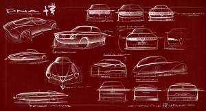 Alfa Romeo Tonale concept inspirations