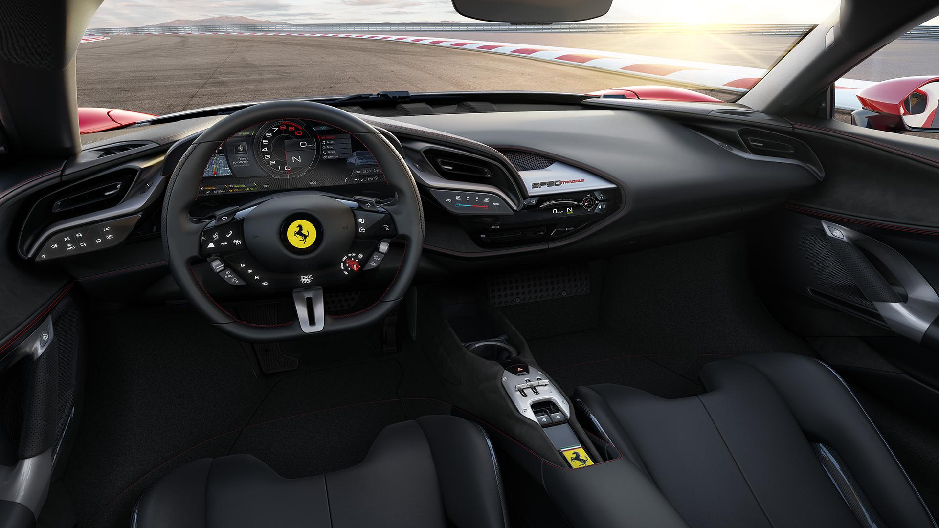 Interni Ferrari SF90 Stradale