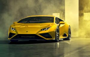 Lamborghini Huracan EVO RWD anteriore