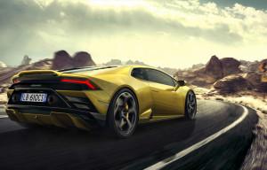 Lamborghini Huracan EVO RWD dinamica posteriore