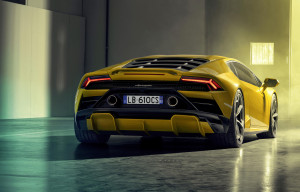 Lamborghini Huracan EVO RWD posteriore