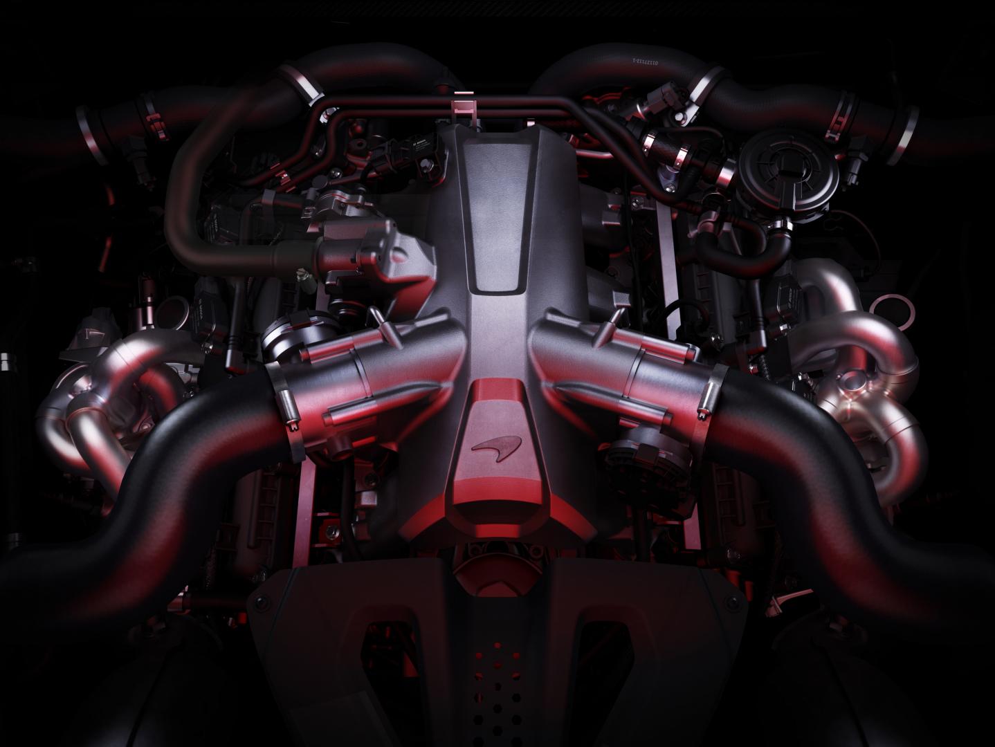 motore McLaren 720S