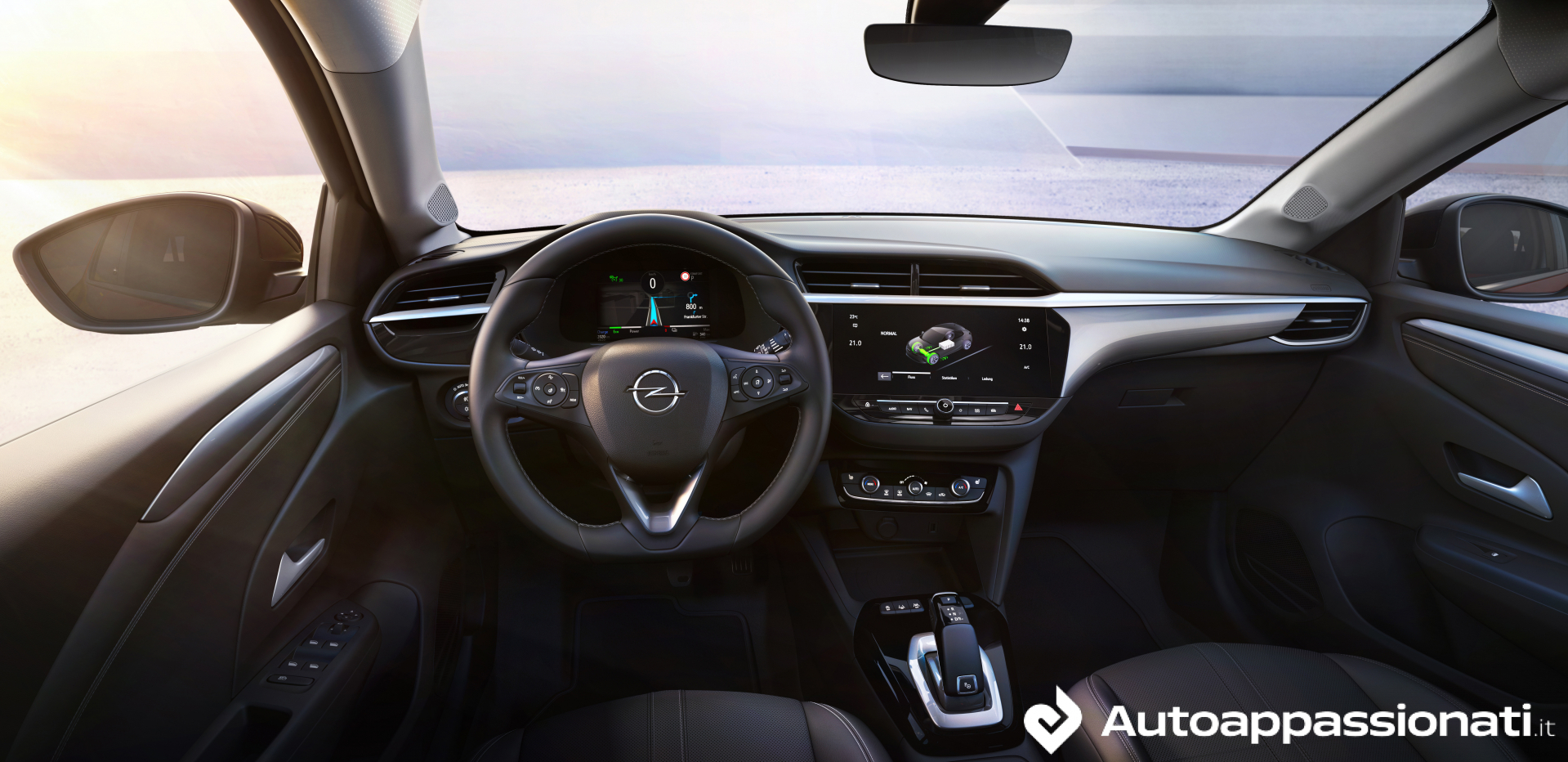 Opel Corsa-e 2019 interni display