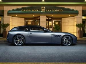 Ferrari GTC4Lusso al Grand Hotel San Marino