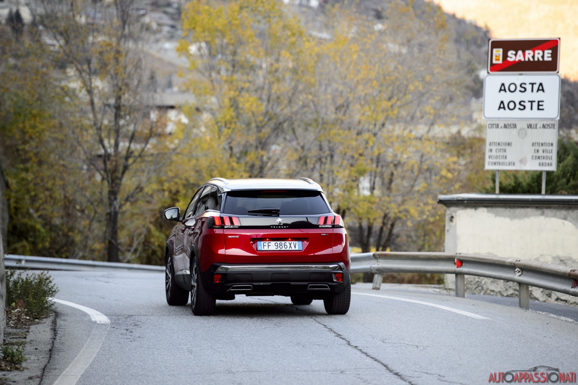 Peugeot 3008 Percorsi Italiani Valle d'Aosta