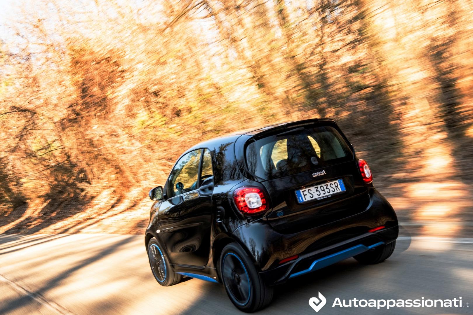 Smart Fortwo Electric Drive | Prova su strada